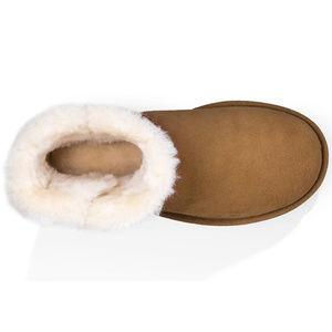 UGG Shoes - UGG Mini Bailey Button II Chestnut